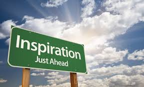 inspiration just ahead